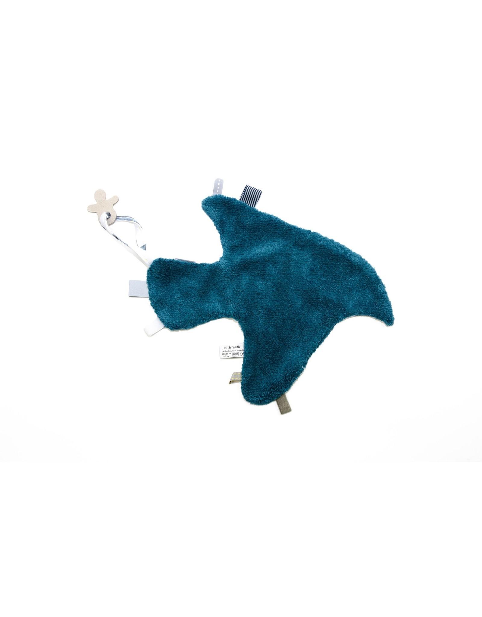 Snoozebaby Snoozebaby Knuffeldoekje Storm Blue