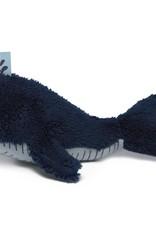 Snoozebaby Snoozebaby Knuffeltje Wally Whale Midnight Blue