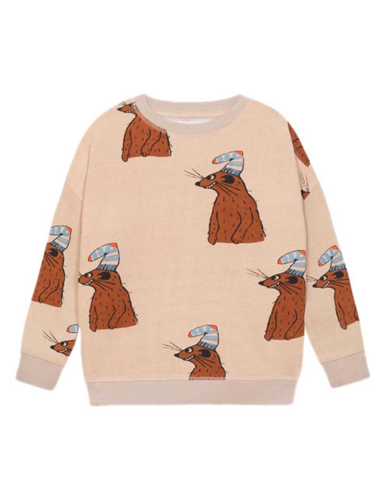 Nadadelazos Nadadelazos Sweatshirt Squirrel & Hat
