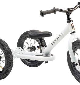 Trybike Trybike 2-in-1 loopfiets Steel White