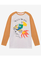 Nadadelazos Nadadelazos T-Shirt met Lange Mouwen Flying By Bike