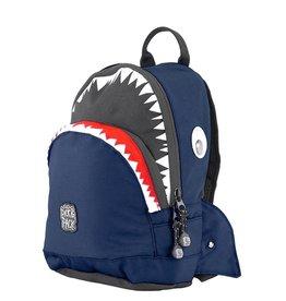 Rugzak haai navy klein