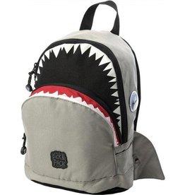 Rugzak haai grijs klein
