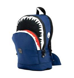 Rugzak haai navy groot