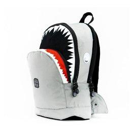 Rugzak haai groot grijs