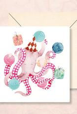 Kaart LY57 octopus feest