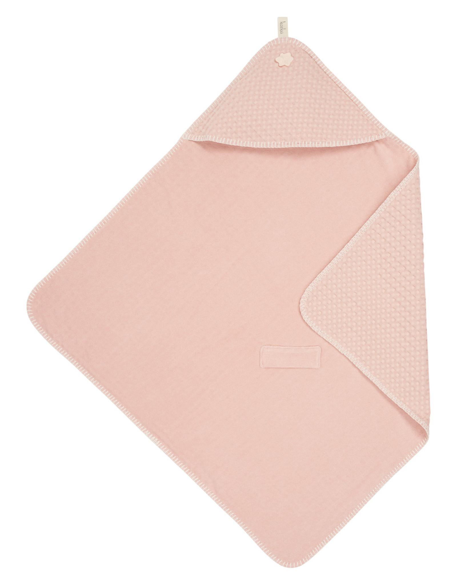Koeka Koeka Omslagdoek Antwerp Wafel Shadow Pink