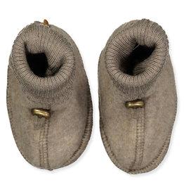 Mikk-Line Mikk-Line 'Wool Footies' instappers Melange Denver