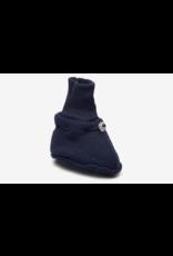 Mikk-Line Mikk-Line 'Wool Footies' instappers Blue Nights