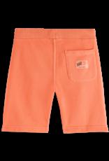 Scotch & Soda Scotch Shrunk sweat shorts in Washed Coral