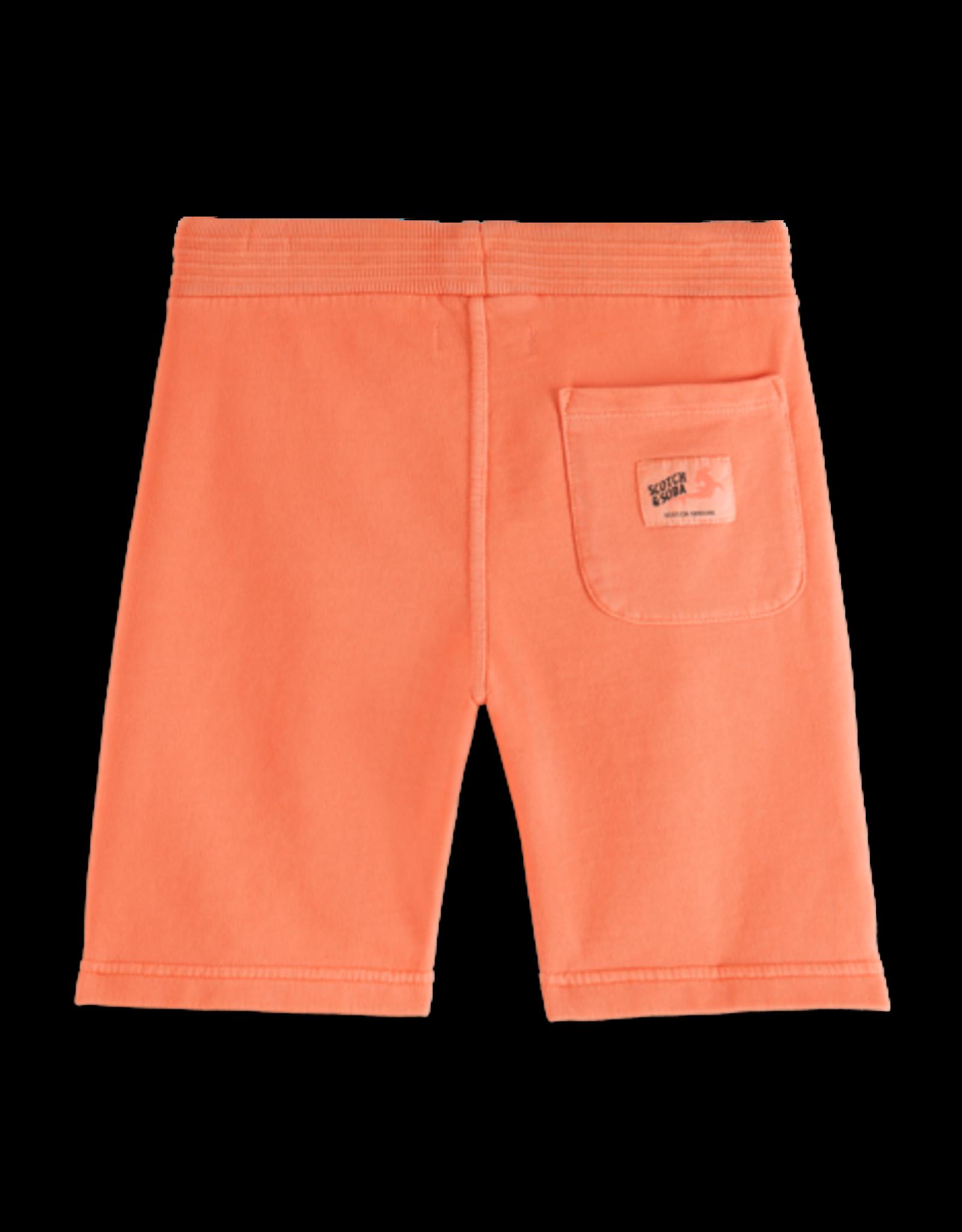 Scotch Shrunk Scotch Shrunk sweat shorts in Washed Coral