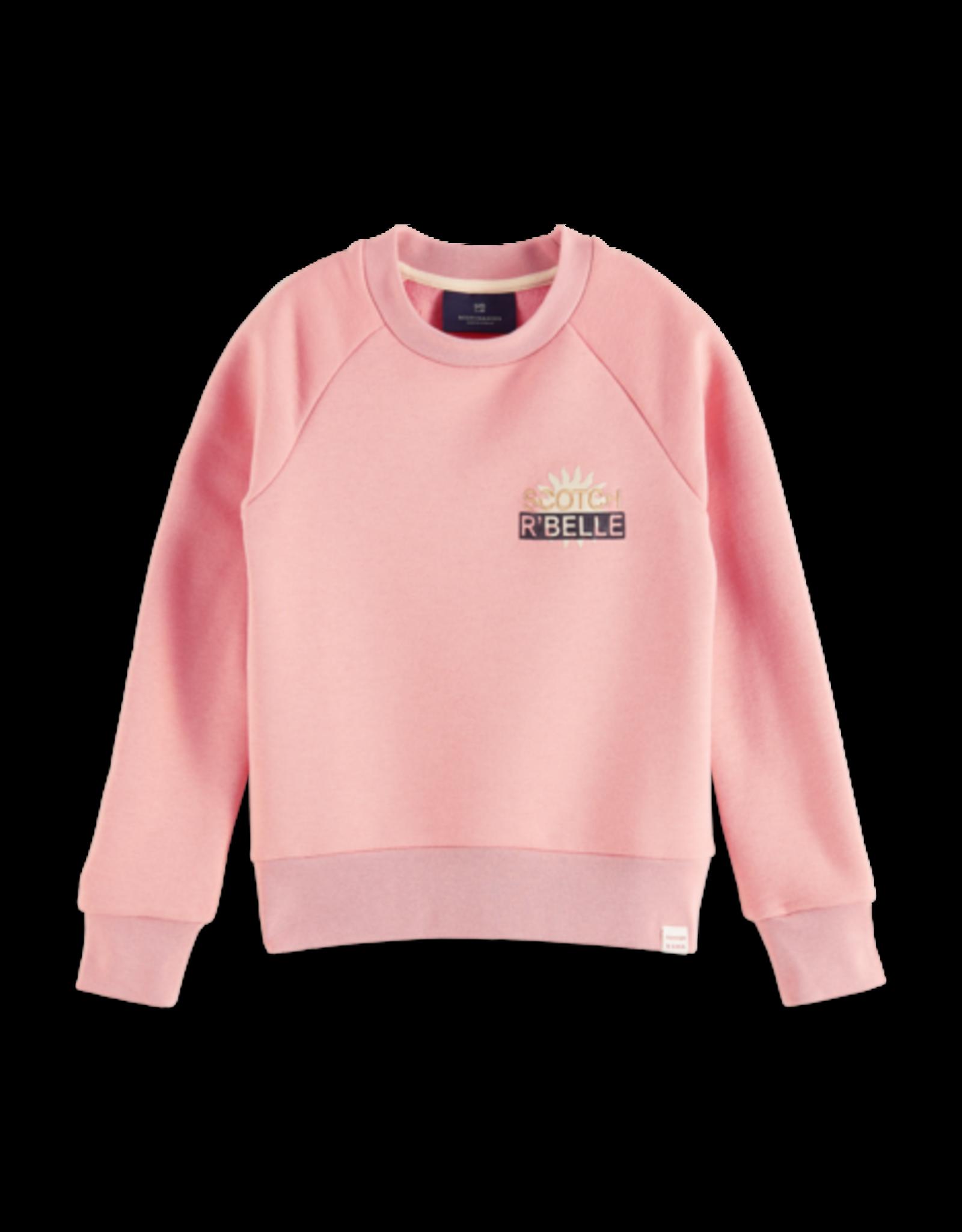 Scotch R'Belle Scotch R'Belle sweatshirt roze