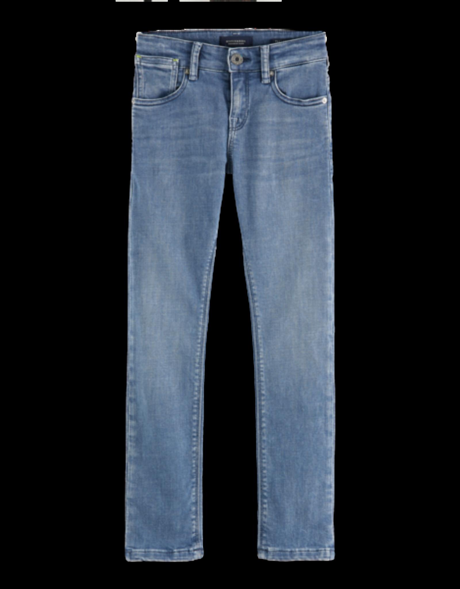 Scotch Shrunk Scotch Shrunk Tigger grijsblauwe jeans