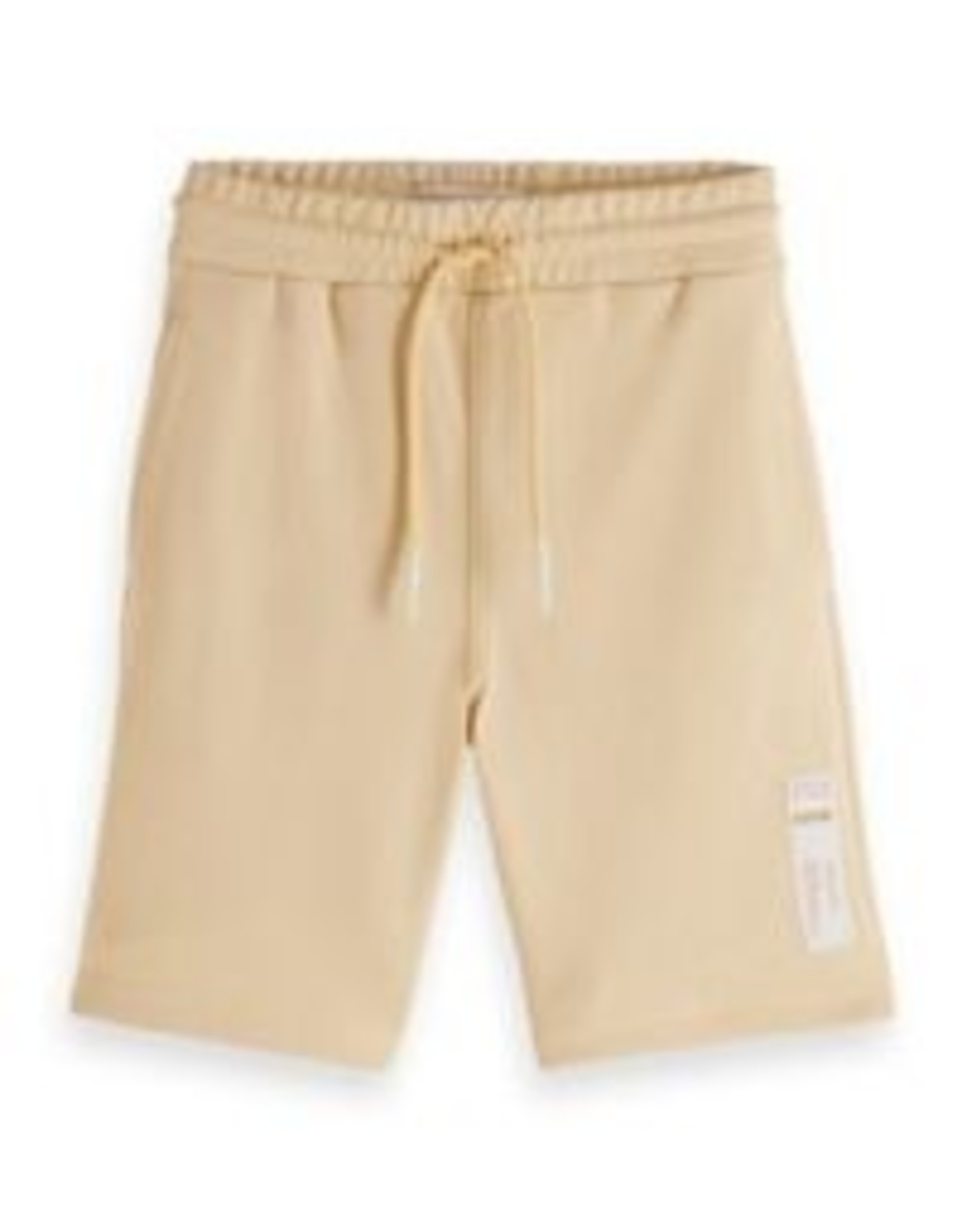 Scotch & Soda Scotch Shrunk unisex sweat shorts licht eigeel