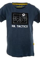 Stones and Bones Stones and Bones 'Russell' Mr Tactics navy t-shirt