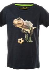 Stones and Bones Stones and Bones 'Russell' Rex navy t-shirt