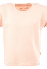 Stones and Bones Stones and Bones 'Georgetta' roze sweatshirt met korte mouwen