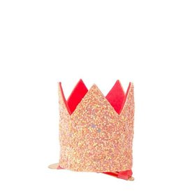 Meri Meri Meri Meri haarspeldje kroon roze glitter