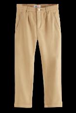 Scotch Shrunk Scotch Shrunk zandkleurige loose fit broek