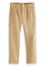 Scotch & Soda Scotch Shrunk zandkleurige loose fit broek