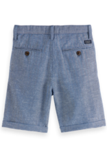 Scotch & Soda Scotch Shrunk blauwe korte broek