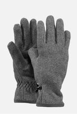 Barts Barts fleece handschoenen heather grijs