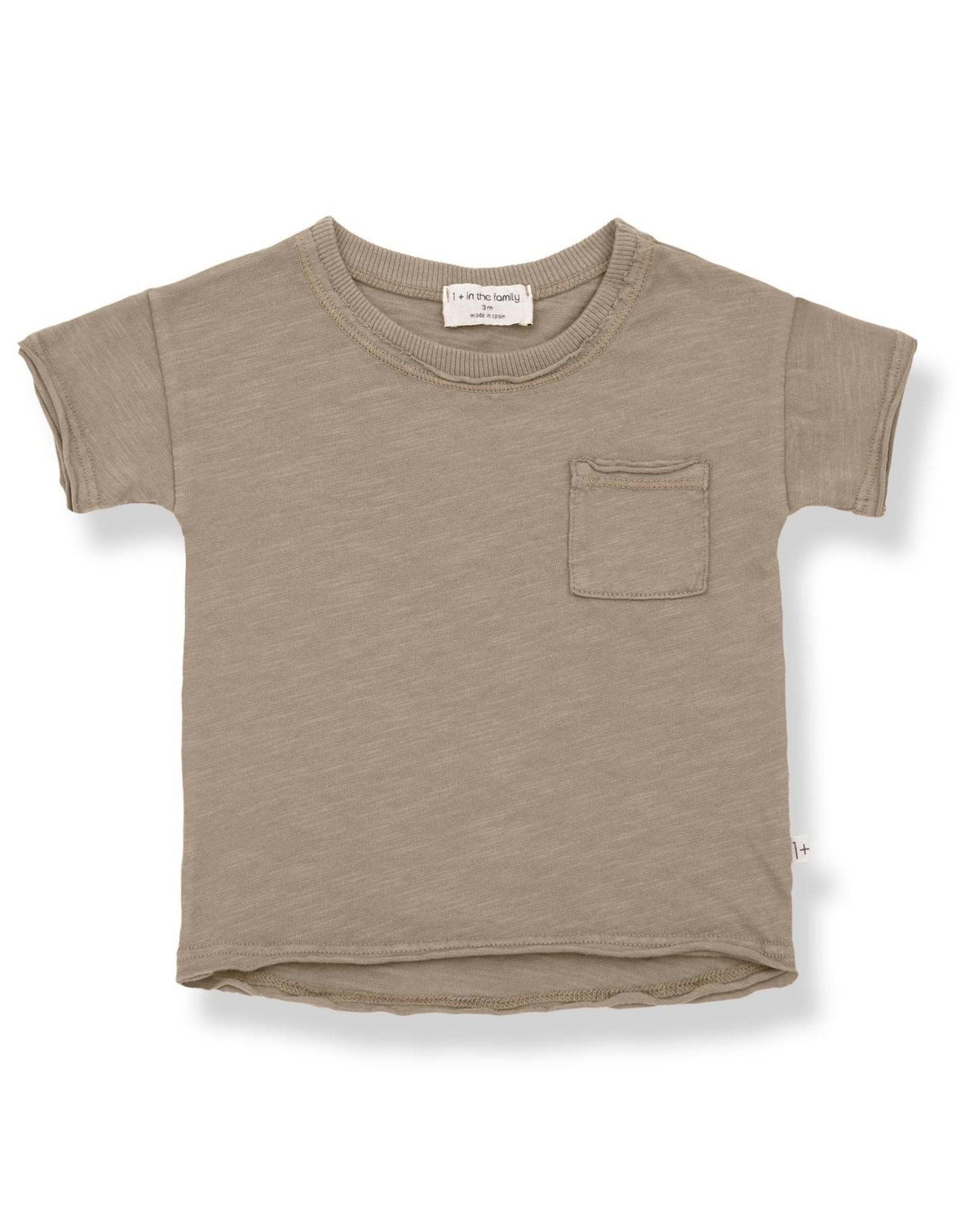 1+ In The Family 1+ in the Family NANI t-shirt khaki