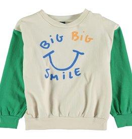 Bonmot Organic Bonmot Organic sweatshirt Big Smile