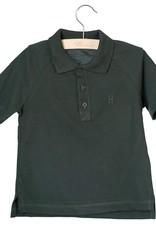 Little Hedonist Little Hedonist Max polo t-shirt groenzwart