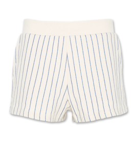 American Outfitters AO sweater shorts glitter stripes natural