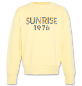 American Outfitters AO oversized sweater sunrise banana