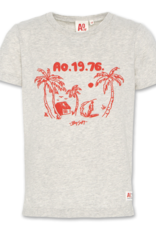 American Outfitters AO t-shirt palms light oxford