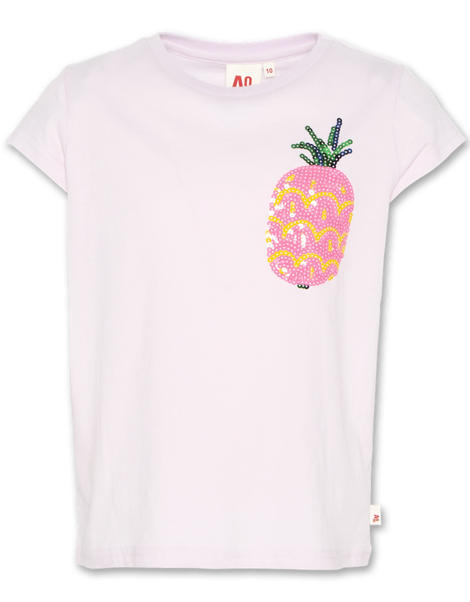 American Outfitters AO t-shirt pineapple lila