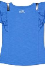 Jubel Jubel blauw verander t-shirt met ijsje en ruches