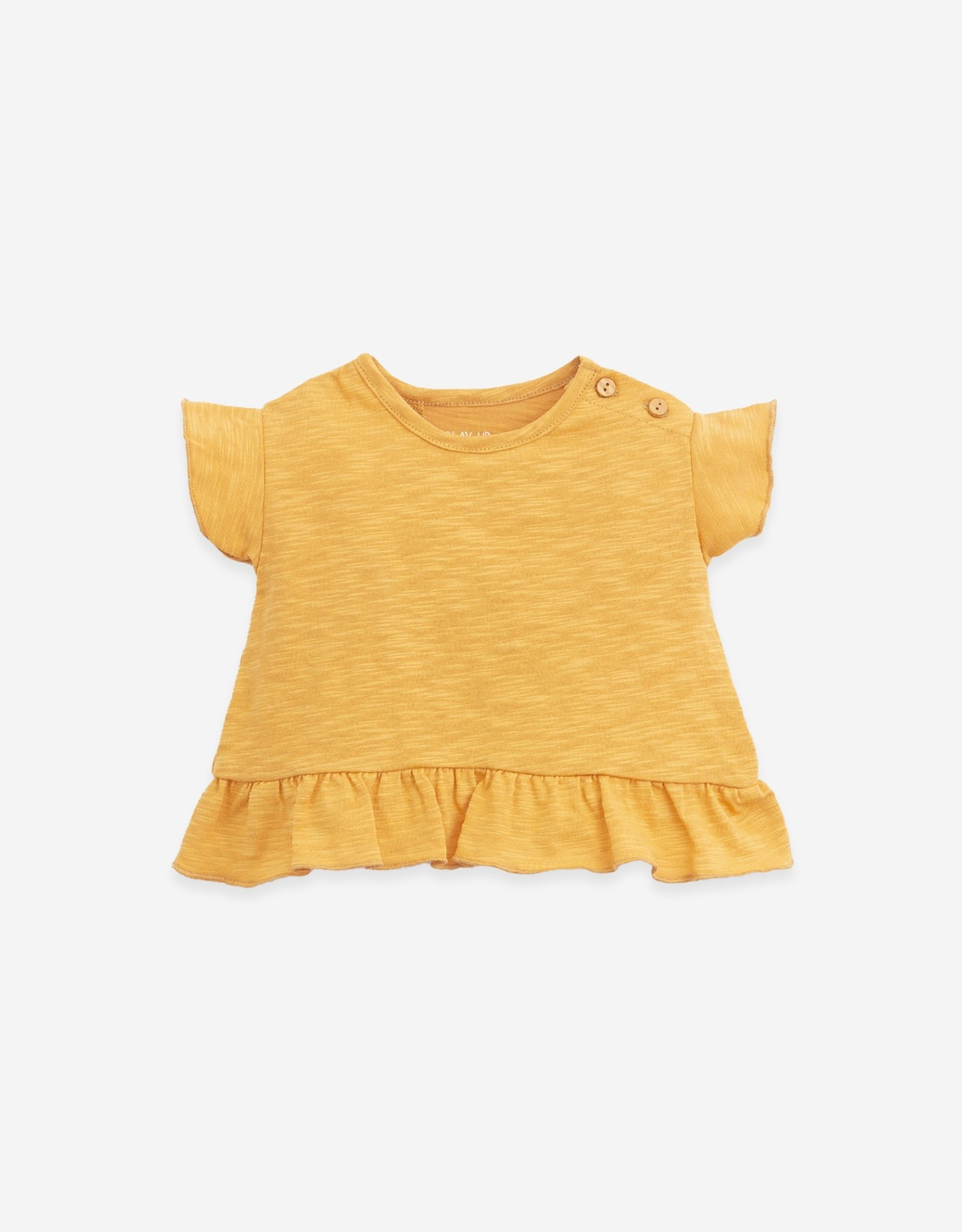 Play Up Play Up t-shirt met ruches sunflower