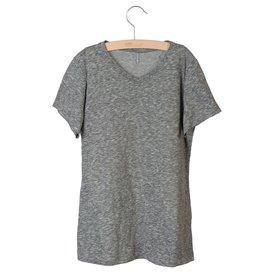 Little Hedonist Little Hedonist Nik t-shirt grijs