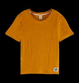 Scotch R'Belle Scotch R'Belle honinggeel t-shirt