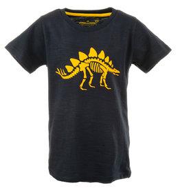 Stones and Bones Stones and Bones 'Russell' Dino navy t-shirt