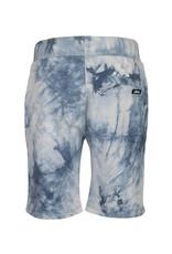 Indian Blue Jeans IBJ blauw tie-dye sweatshort