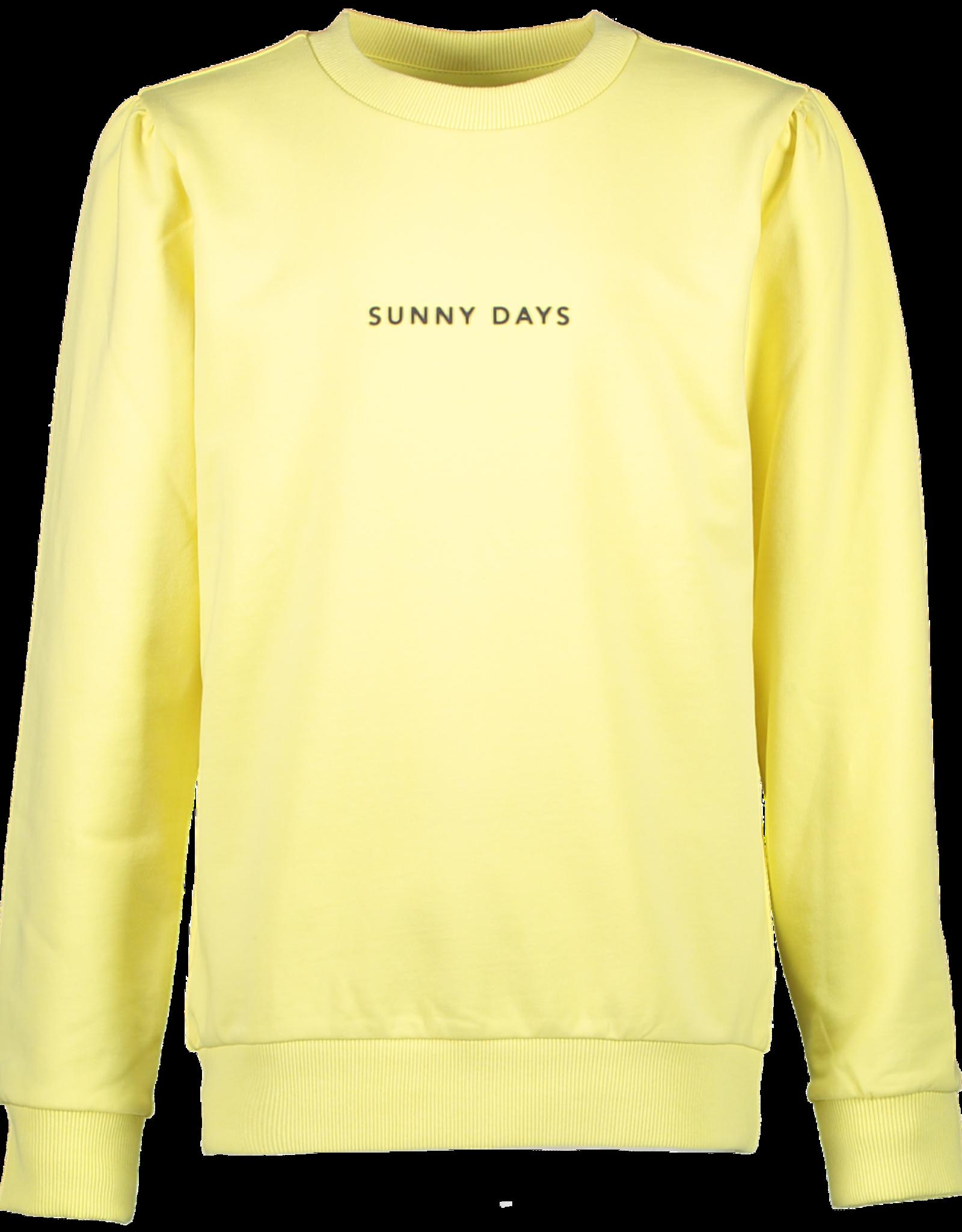 Cars Cars Scarlet lichtgele sweater 'Sunny Days'