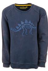 Stones and Bones Stones and Bones 'Imagine' Dino navy sweatshirt