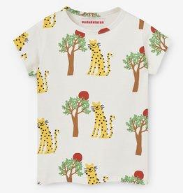 Nadadelazos Nadadelazos T-Shirt Leopard and Tree
