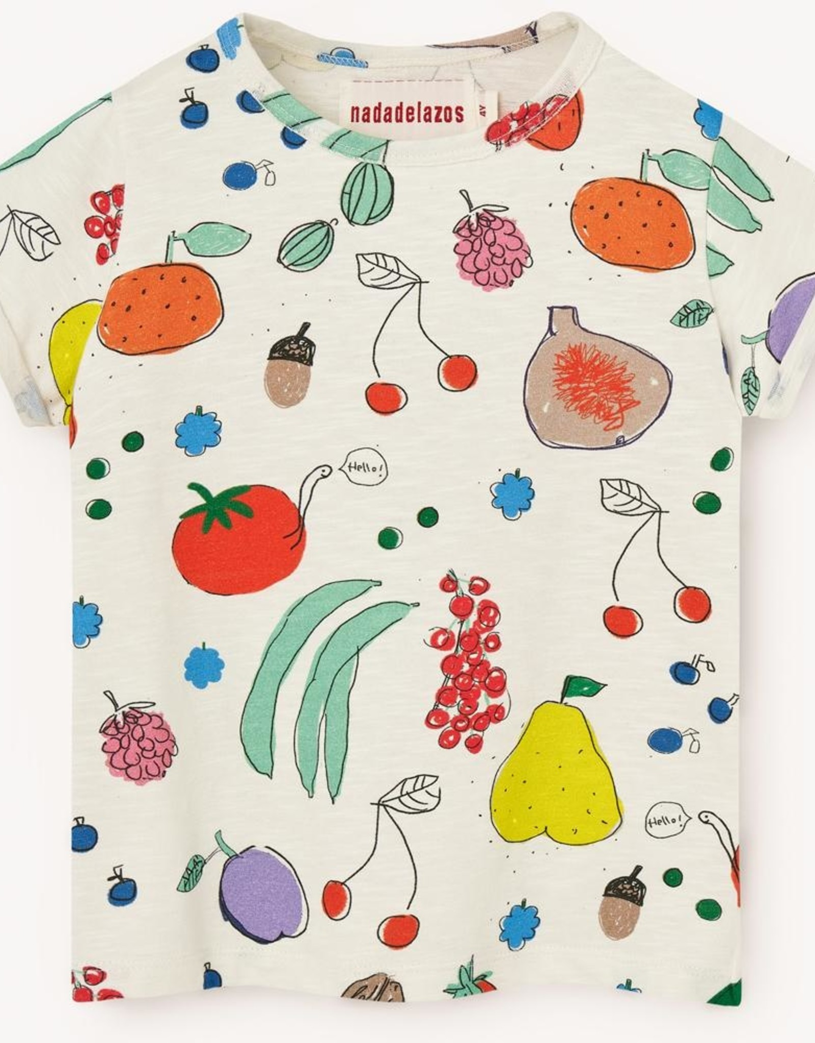 Nadadelazos Nadadelazos T-Shirt Fruits From The Garden