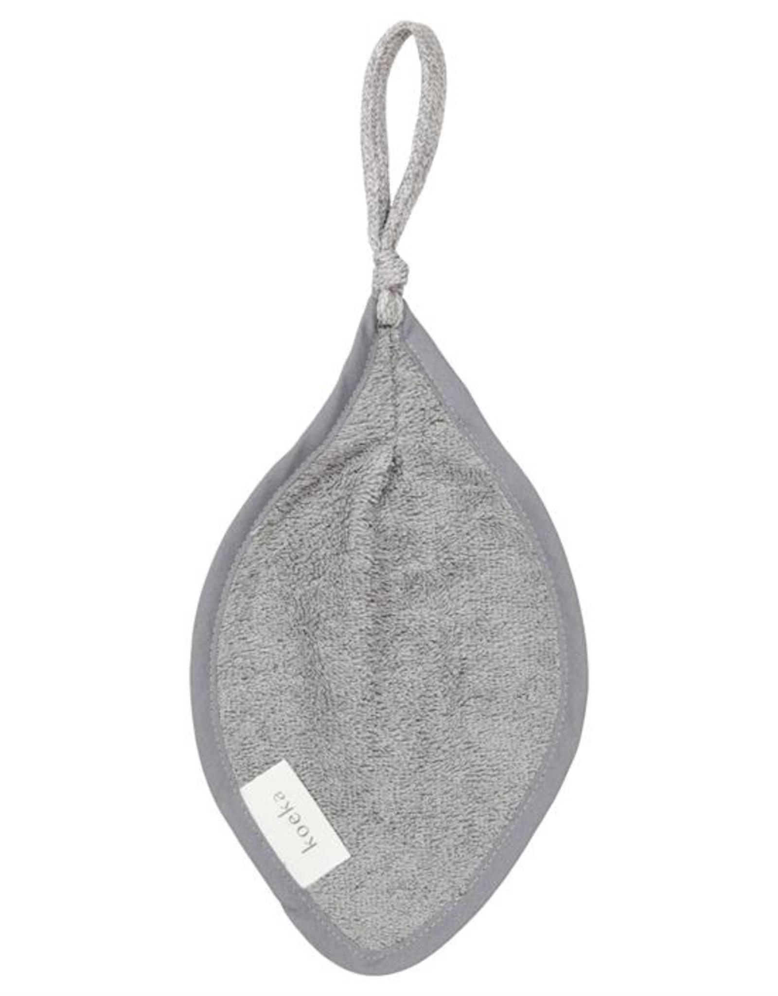 Koeka Koeka organic speendoekje Dijon Steel Grey