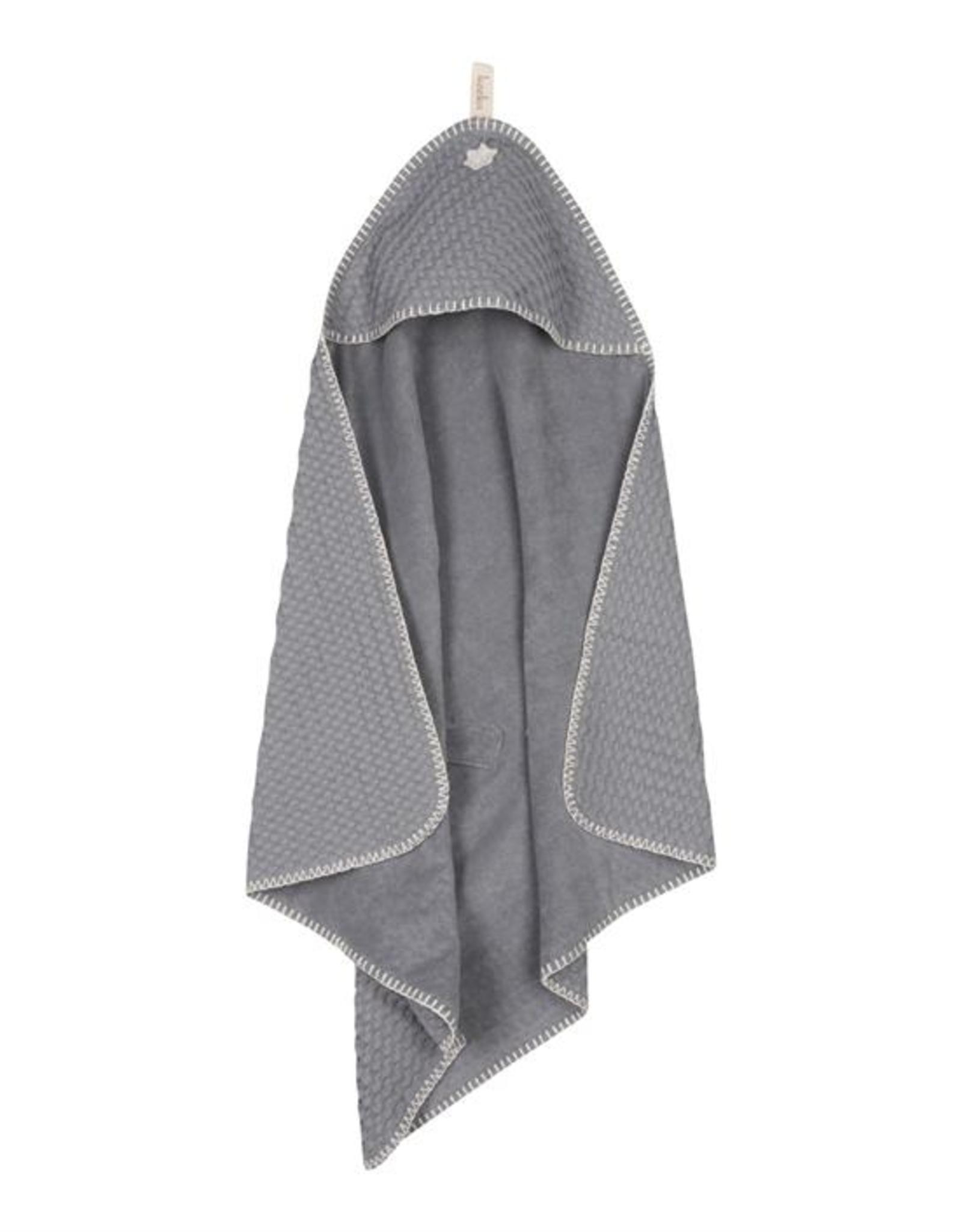 Koeka Koeka Omslagdoek Antwerp Wafel  Steel Grey