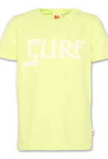 American Outfitters AO t-shirt surf fluo yellow