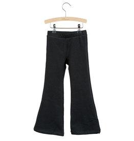 Little Hedonist Little Hedonist Monroe flared legging zwart