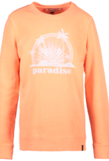Cars Cars Yade neon oranje sweatshirt met paradise opdruk