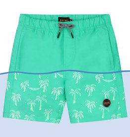 Shiwi Shiwi zwemshort magic palmtree pappagallo