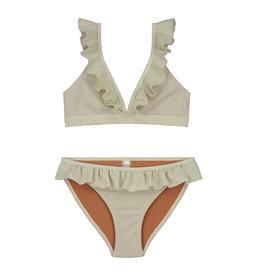 Shiwi Shiwi bikini triangle glitter ruffle zand